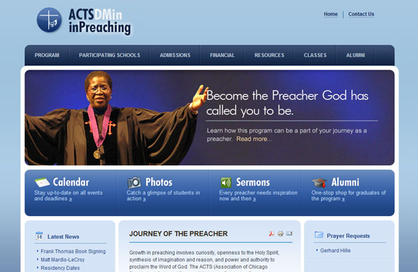 ACTS Dmin in Preaching Program