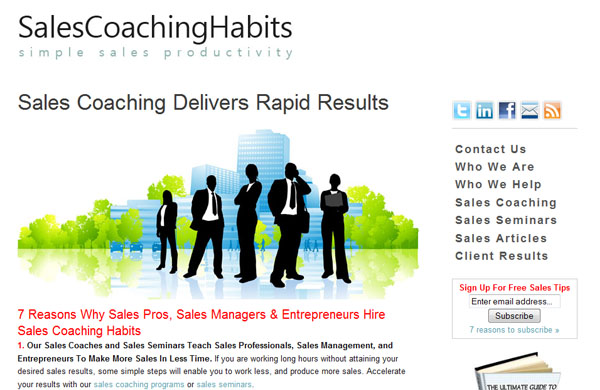 Sales Coaching Habits