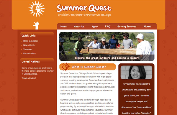 SummerQuest, Chicago Public Schools